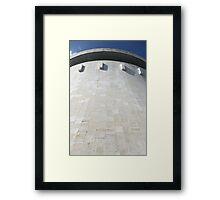 Cooling tower  Framed Print