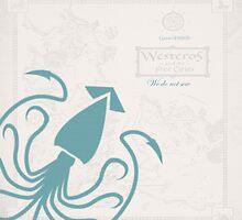 Game of Thrones, House Grey Joy, Blue by Woollymammoth88