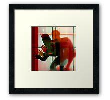 Body Language 3 Framed Print