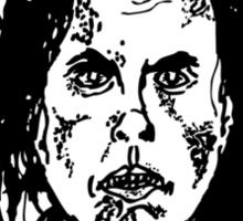 ANGRY WALKER HAS HERD Sticker