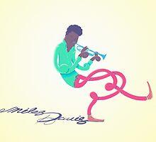 Miles Davis by josemario