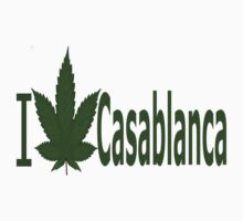 0090 I Love Casablanca by Ganjastan