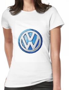 Volkswagen Impressionist Canvas Womens Fitted T-Shirt