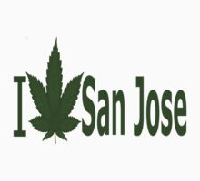 0091 I Love San Jose  by Ganjastan
