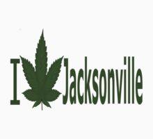 0092 I Love Jacksonville  T-Shirt