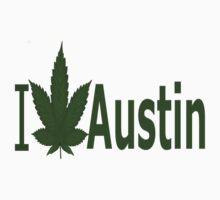 0094 I Love Austin by Ganjastan