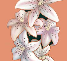 Tiger Lilies in Bloom by imperfectForger
