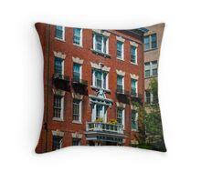 City Life Throw Pillow