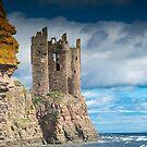 Keiss Castle, Caithness, Scotland by Iain MacLean