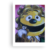 Rowlf the Dog, Eighth Doctor Canvas Print