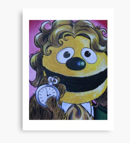 Rowlf the Dog, Eighth Doctor Canvas Print