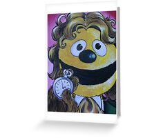 Rowlf the Dog, Eighth Doctor Greeting Card