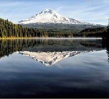 Trillium Lake by Heather Haderly