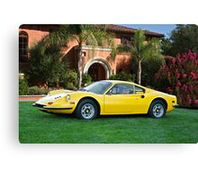 1972 Ferrari Dino 246 GT III Canvas Print