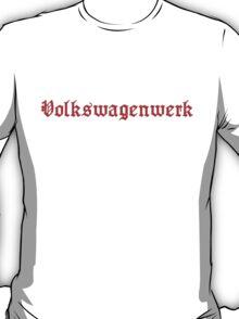 Heavy Red VW Volkswagenwerk T-Shirt
