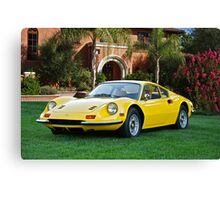 1972 Ferrari Dino 246 GT II Canvas Print