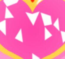 pink moon power Sticker