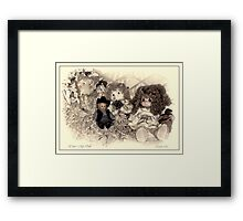 You're My Doll Framed Print