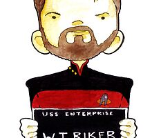 W.T. Riker, Lineup by Bantambb