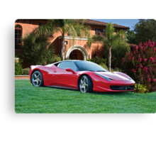 2012 Ferrari F458 Italia  Canvas Print