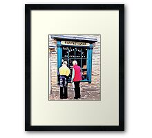 THE SHOP OF GOODIES Framed Print