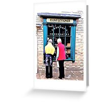 THE SHOP OF GOODIES Greeting Card