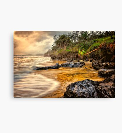 Rainbow Cove... Canvas Print