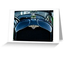 1921 Duesenberg A Bender Coupe I Greeting Card