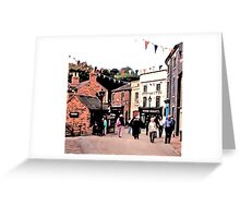 BUSTLING BLISTS HILL Greeting Card