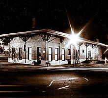 Lonely Old Night - Montezuma, Georgia by Mark Tisdale
