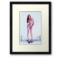 Pink Tape 2012 Danni Nicole Framed Print