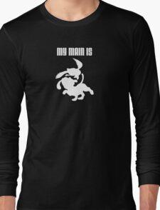 My Main Is Duck Hunt (Smash Bros) Long Sleeve T-Shirt