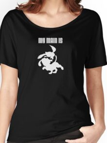 My Main Is Duck Hunt (Smash Bros) Women's Relaxed Fit T-Shirt
