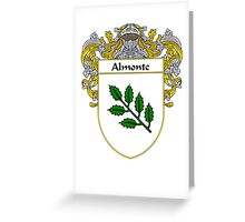 Almonte Coat of Arms/Family Crest Greeting Card