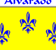 Alvarado Coat of Arms/Family Crest Sticker