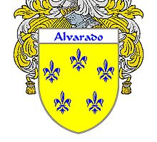Alvarado Coat of Arms/Family Crest by William Martin