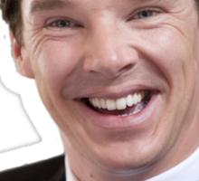 Benedict Cumberbatch Flower Crown Sticker