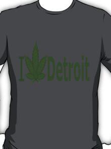 0099 I Love Detroit T-Shirt