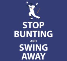 Stop Bunting and Swing Away (Uribear edition) by Gigawatt121