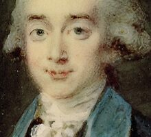Portrait miniature of Count Hans Axel von Fersen (1755-1810) (oil on canvas)  by Bridgeman Art Library