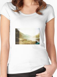 Shadows of You Women's Fitted Scoop T-Shirt
