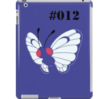 012 Butterfree iPad Case/Skin