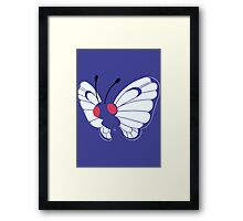 012 Butterfree Framed Print