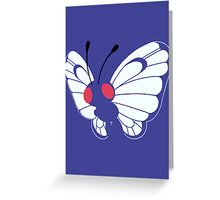 012 Butterfree Greeting Card