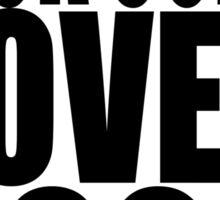 NICK LOVES YOGA Sticker