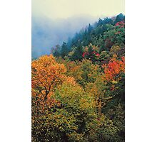 AUTUMN COLOR NEAR THE CHIMNEYS Photographic Print
