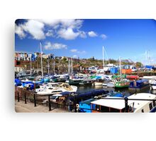 Resting Harbor near SS Great Britain Canvas Print