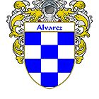 Alvarez Coat of Arms/Family Crest by William Martin