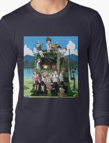 DIGIMON adventures tri 15 years Long Sleeve T-Shirt