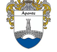 Aponte Coat of Arms/Family Crest by William Martin
